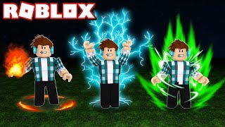 I WON SUPER POWERS IN ROBLOX!!
