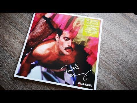 Freddie Mercury - Never Boring Vinyl Unboxing 4K