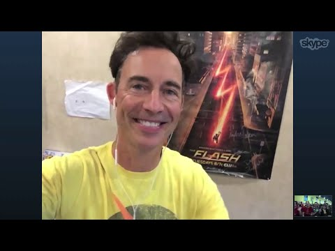 Tom Cavanagh Video Calls WCCB