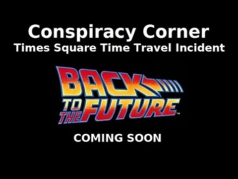 Times Square Time Travel Incident Preview