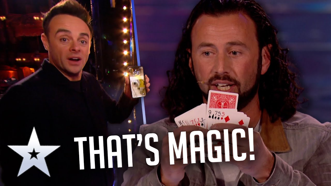 Magician TURNS BACK TIME! | Unforgettable Audition | Britain's Got Talent