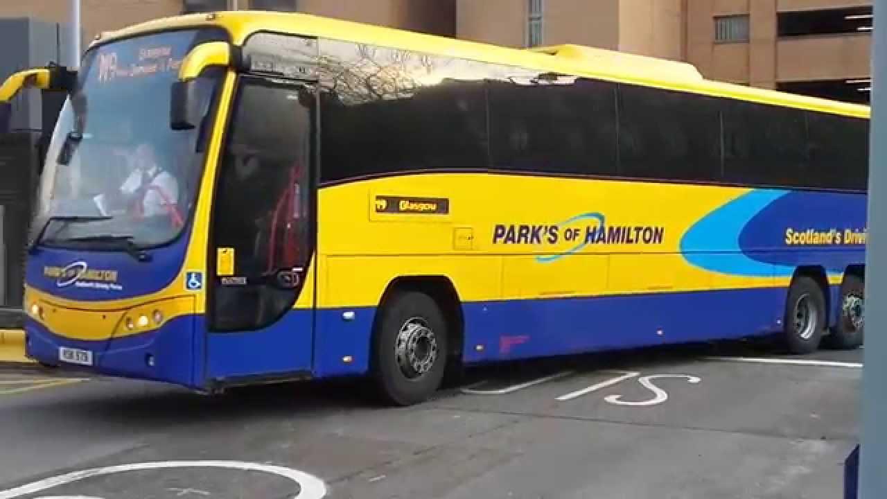 Parks of Hamilton Volvo B12B Plaxton Panther (KSK 979) - YouTube