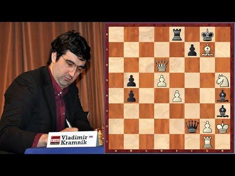 Kramnik vs. Carlsen! Carlsen Slipped Again!
