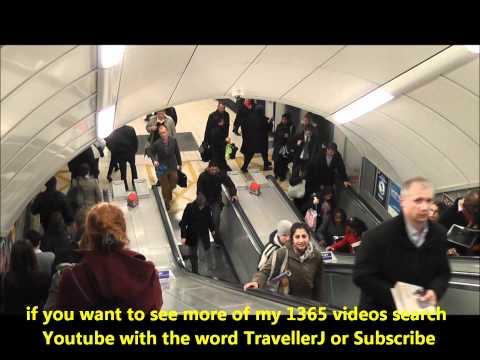 Kings Cross St Pancras, London Underground Station.