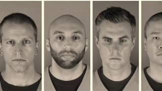 All 4 officers in George Floyd's de@th face charges  Donald Trump  Protesting for justice.
