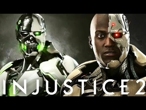 """Injustice 2: """"GRID"""" In Game First Look & """"Cyborg"""" Gameplay, Epic Gear And New Abilities Breakdown!"""