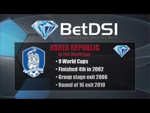 2014 World Cup Team Preview |  South Korea Odds and Betting Predictions