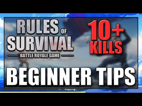 Rules of Survival BEGINNER TIPS & TRICKS | ROS How To Get More Kills