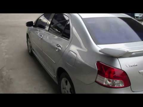 รถเก๋งมือสอง รถราคาถูก TOYOTA (โตโยต้า วีออส) Vios สีบรอนซ์เงิน ปี 2008 เกียร์ออโต้#UC75