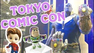 I WENT TO TOKYO COMIC CON! 東京コミコン | Japan Vlog ♡