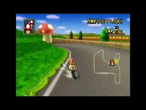 [MKW Former WR] N64 Mario Raceway (w/ Mach Bike) - 01:41.624