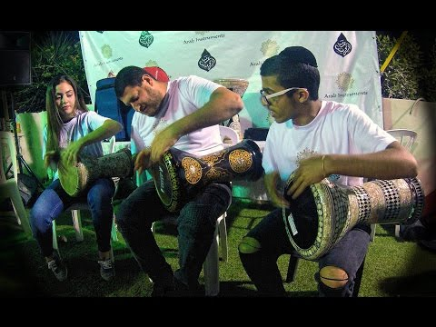 Two Darbuka Kids On The Block - Darbuka Solo From Our Workshop