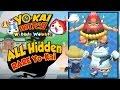 Yo-Kai Watch Wibble Wobble - ALL 8 RARE HIDDEN Yo-Kai Locations!  [iOS Android Gameplay]