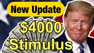 Second Stimulus Check and Unemployment Extension Update: $4000 Stimulus Check?