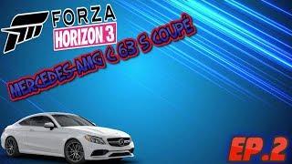 2012 MERCEDES-AMG C 63 S COUPÉ Street Racing l Forza Horizon 3 PC 1080p l