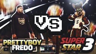 PRETTYBOYFREDO VS  SUPERSTAR 3 MASCOT ON A 68 GAME WIN STREAK!!!! BLOW OUT OF THE YEAR ??? NBA 2K17