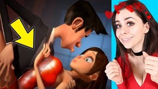 Reacting to the BEST VALENTINES DAY love animations