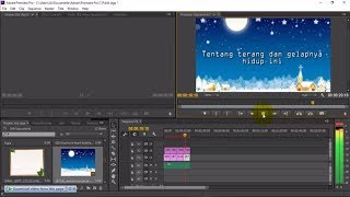 Cara membuat LIRIK LAGU UNTUK PEMULA di Adobe Premiere [ GAMPANG BANGET ]