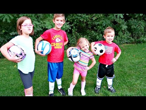 Download Youtube: ⚽️FAMILY SOCCER!!