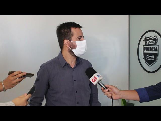 Delegado fala sobre homicídio ocorrido nesta terça-feira (30), em Guarapuava
