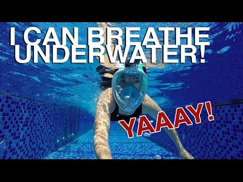 Hey I Can Breathe Underwater!