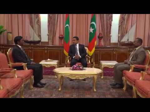 President appoints Ahmed Naseer as the Governor of Maldives Monetary Authority