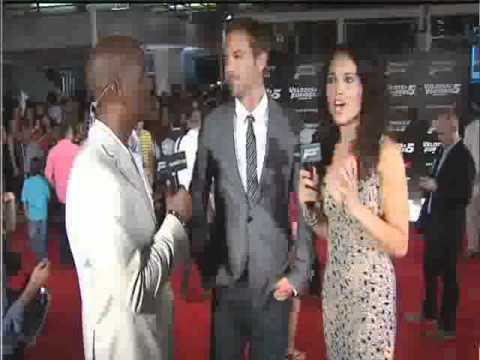 Paul Walker & Tyrese Share Bromance at the FF5 Rio Premiere