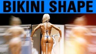 Bikini Athletin Mara auf der Frey Classic