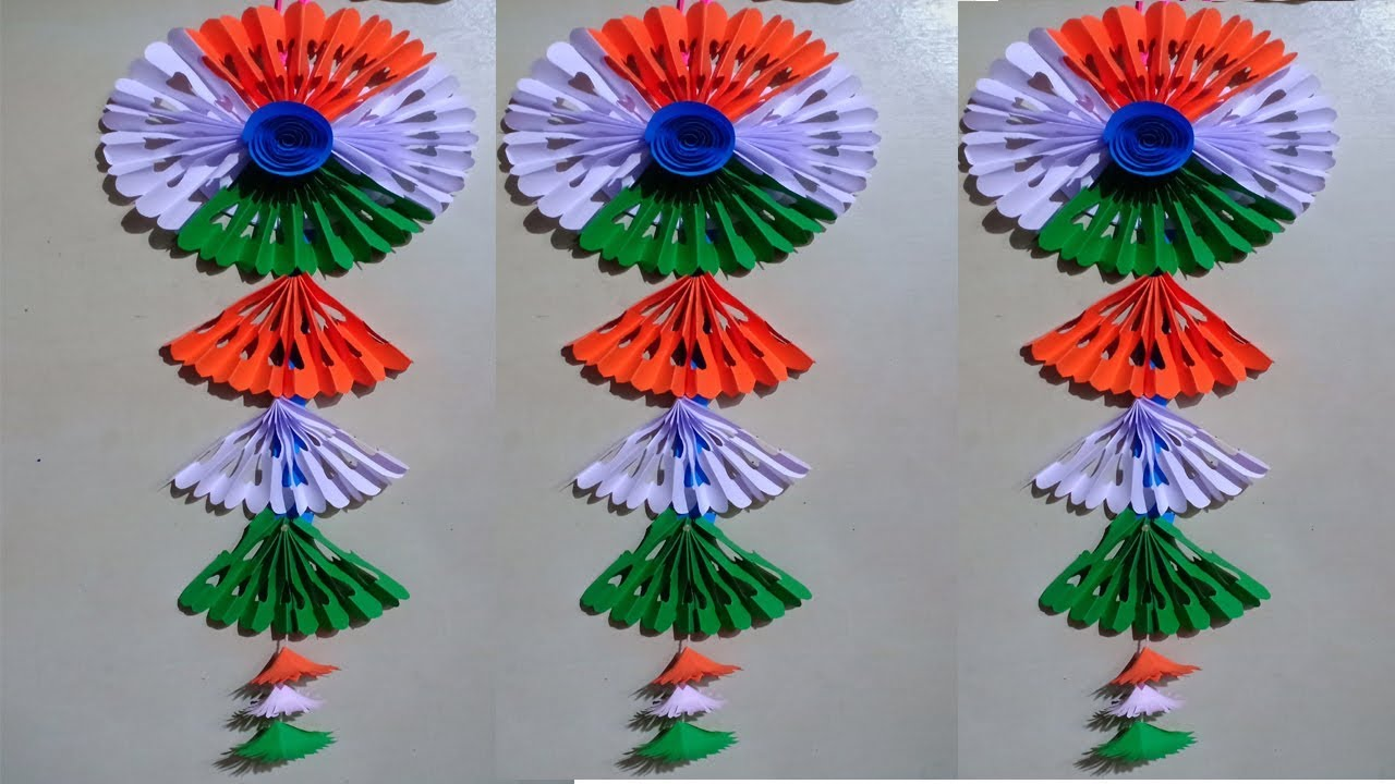Republic Day Craft Ideas Republic Day Project Work Wall Hanging