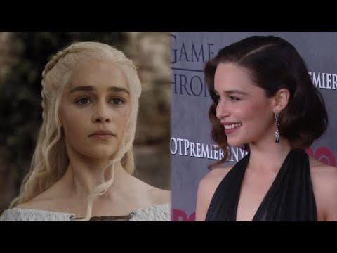 Emilia Clarke Goes Blonde! See the 'Game of Thrones' Star Channel Daenerys Targaryen in Real Life
