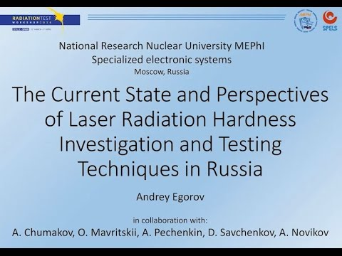 The Current State and Perspectives of Laser Radiation Hardness Investigation and Testing Techniques