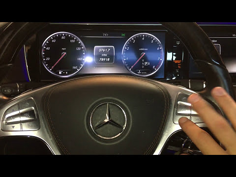reset service indicator mercedes benz s class w222 2013 2017 youtube. Black Bedroom Furniture Sets. Home Design Ideas
