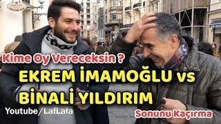 EKREM İMAMOĞLU vs BİNALİ YILDIRIM ft. TAKSİM! KİME OY VERİCEKSİN? ( sonunu kaçırma )