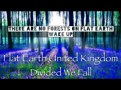 Flat Earth United Kingdom - Divided We Fall (No Forests On Flat Earth)