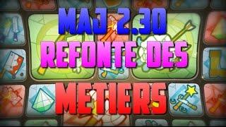 [Dofus] Jeremy-sadi - MAJ 2.30 - Refonte des métiers - Nerf ou up pécheur ?