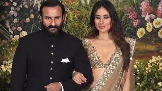 Kareena Kapoor And Saif Ali Khan's ROYAL Entry At Sonam Kapoor Anand Ahuja's Reception