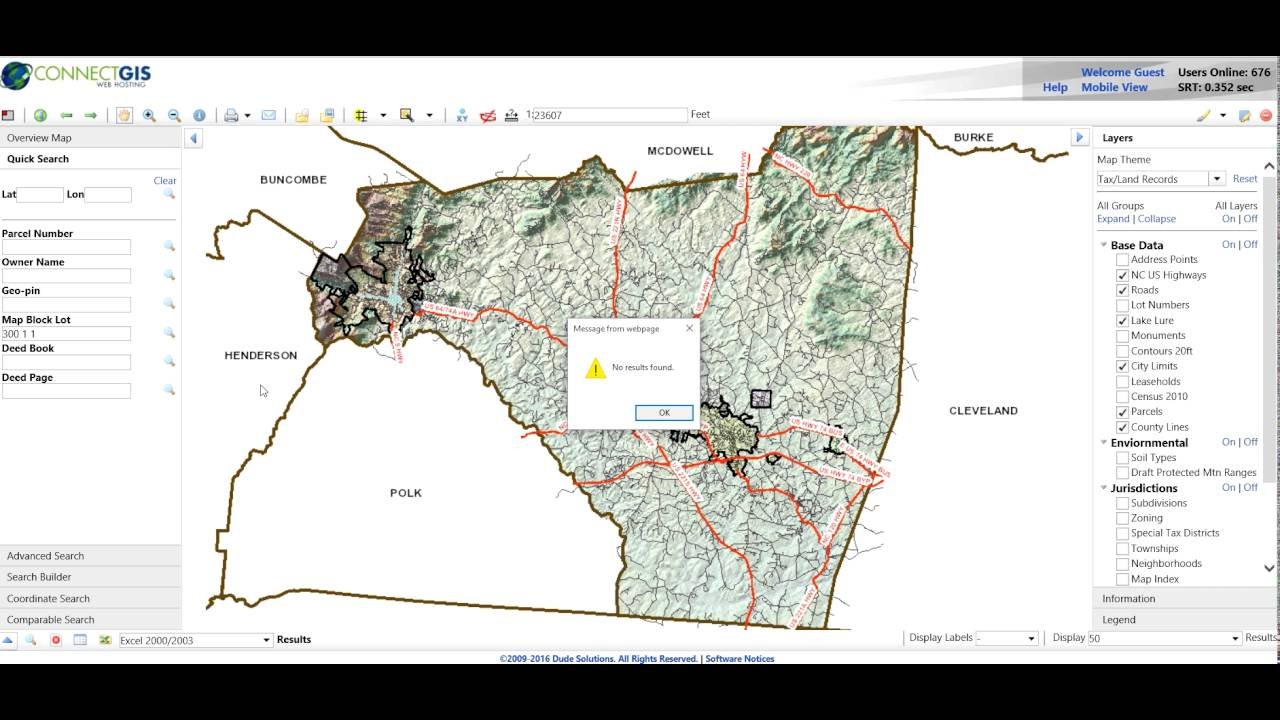 Rutherford County Nc Gis Search Windows Youtube