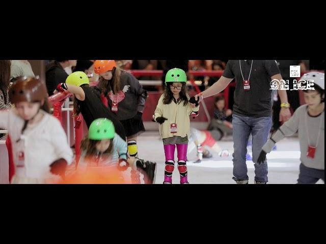 ON ICE - Uma pista de patinação no gelo na Casa Bossa
