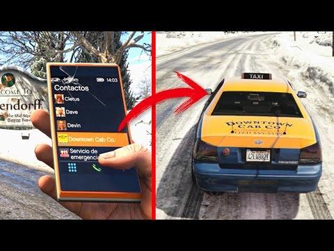 ¿Que Pasa si Envías un Taxi a North Yankton? GTA 5 Misterio