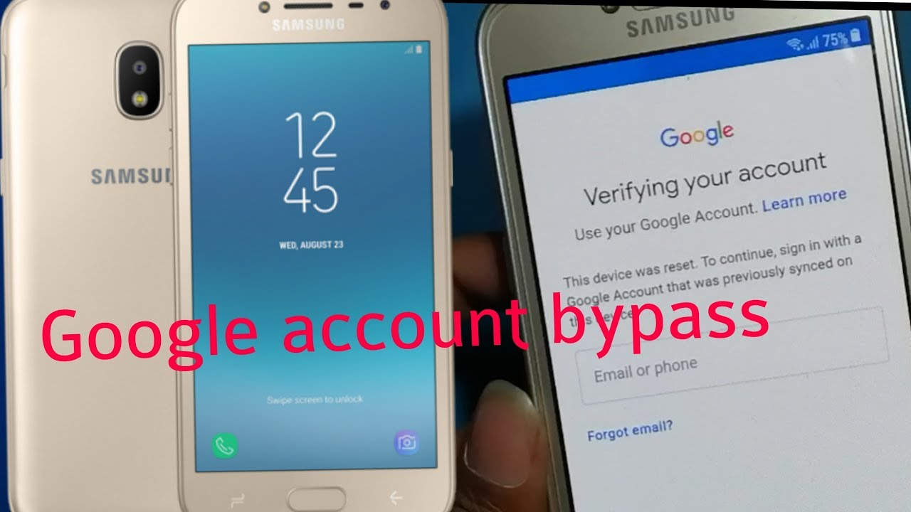 Samsung j2 Google account bypass frp unlock (2016-2017-2018)