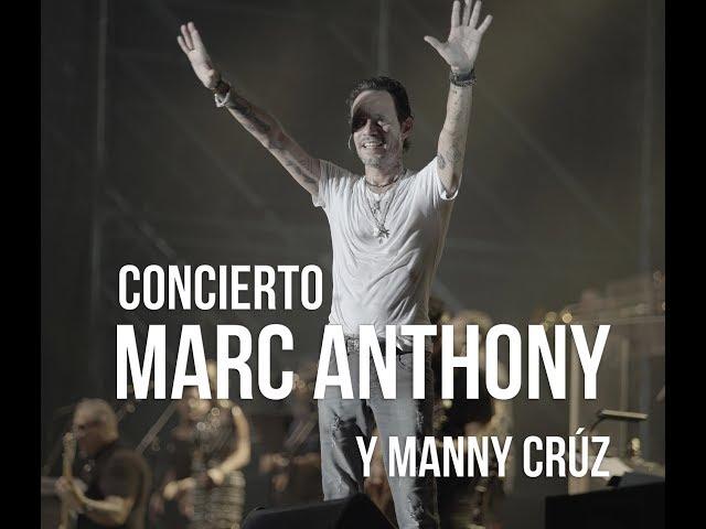 Concierto de Marc Anthony en el Hard Rock Hotel & Casino de Punta Cana junto a Manny Cruz