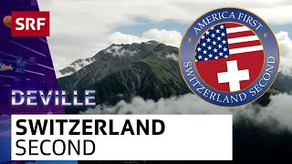 Switzerland Second (official) | DEVILLE LATE-NIGHT #everysecondcounts(Swiss Response to «The Netherlands welcome Trump in is own words» from the dutch TV-Show «zondag met lubach»., 2017-02-02T19:55:30.000Z)