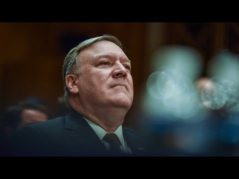 Senate votes on confirmation of Pompeo as secretary of state