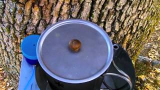 Cooking on my Smokeeater908 Tree Table with New Mod and Addition