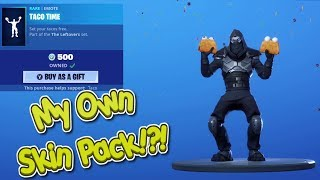Fortnite Item Shop 🌮 Taco Tuesday Time!! Guaco Skin, Taco Time Emote, Forever Tuesday Weapon Skin!!