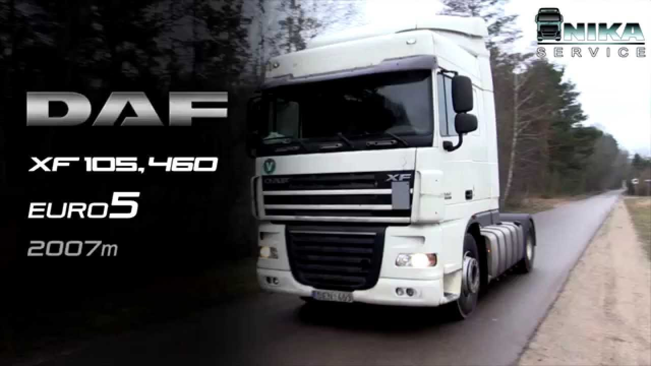 Modish DAF XF 105, 460 EURO5 - YouTube MX38