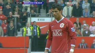 Cristiano Ronaldo Vs West Ham Home (13/05/2007)