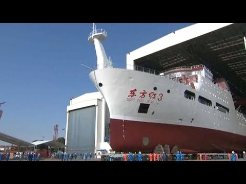 China launches latest marine research vessel