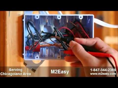 M2Easy 1-847-344-2369 | Electrician | Handyman | Home Repairs | Chicago | Des Plaines | Park Ridge