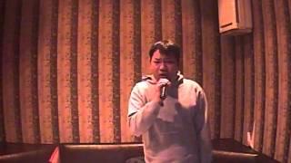 Drunk singer Yasu karaoke BAD FEELING BOOWY
